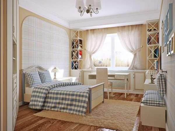 Спальня в хрущевке в стиле прованс