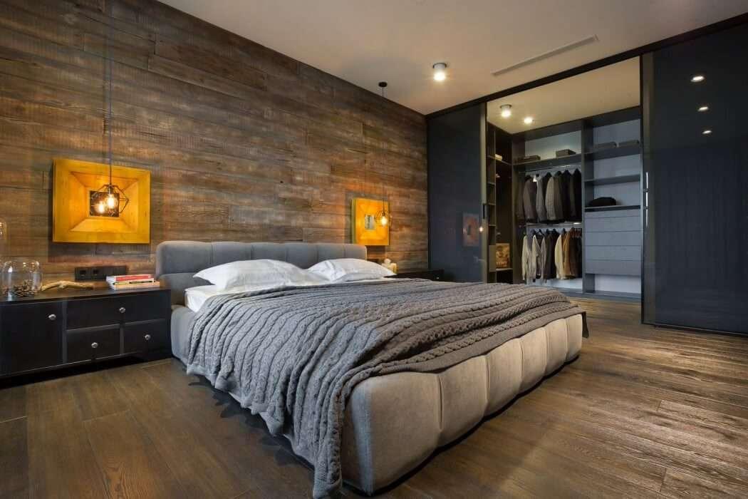 спальни в стиле лофт особенности стиля и фото интерьеров