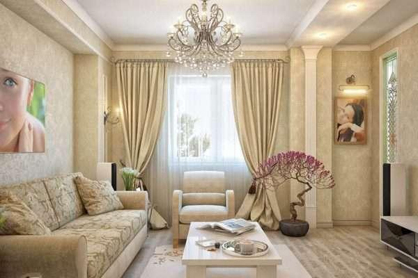 Светлые материалы из дерева для пола - лучшее решение для маленькой комнаты