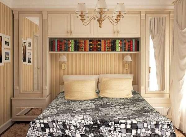 Дизайн маленькой спальни -рацонально используем пространство