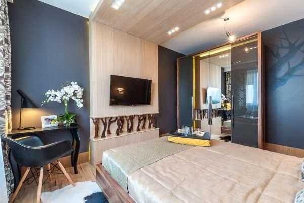 Скандинавский стиль в дизайне спальни