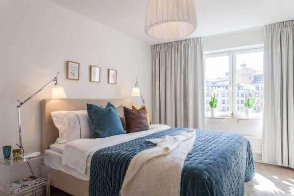Простота и стиль современной спальни