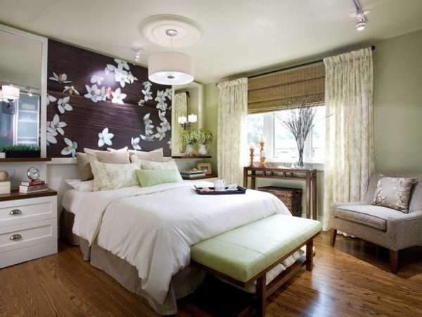 Дизайн спальни в стиле Аля Натюрель