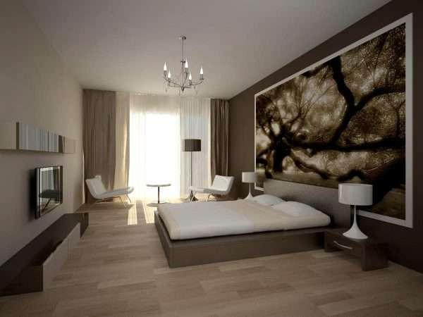 Гостиная спальня в стиле минимализм
