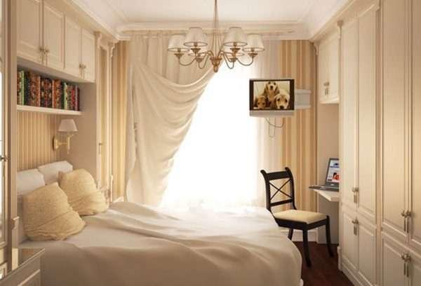 Дизайн интерьера маленькой спальни 9 метров