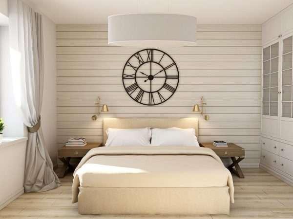 Скандинавский стиль в дизайне спальни на даче