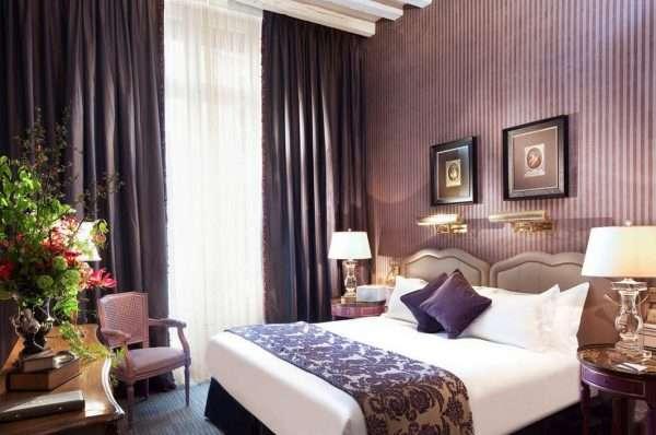 Классический дизайн современной спальни