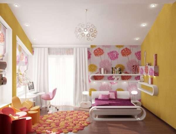 Освещение в детской спальне