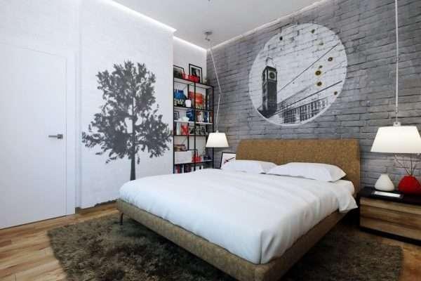 Дизайн небольшой спальни в современном стиле