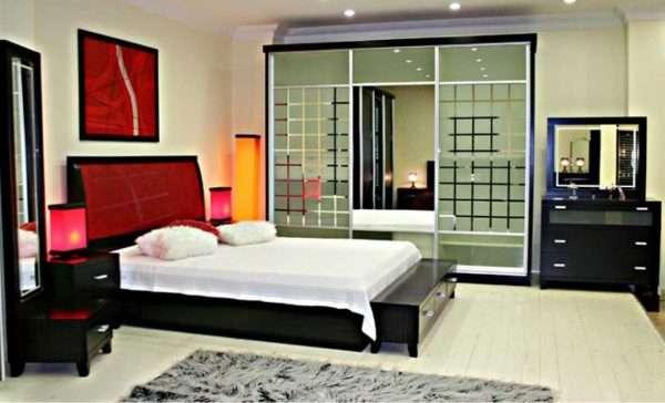Варианты расстановки мебели для спальни