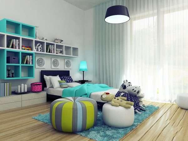 Спальня для девочки подростка в стиле минимализм