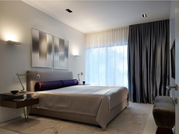 Шторы для спальни из ткани блэкаут