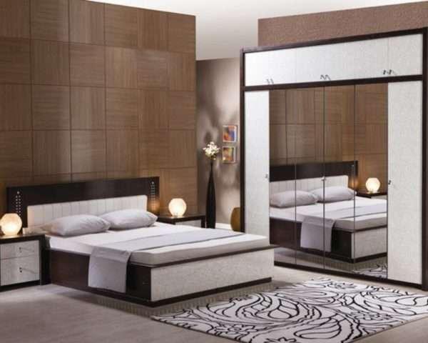 Зеркала в интерьере современной спальни