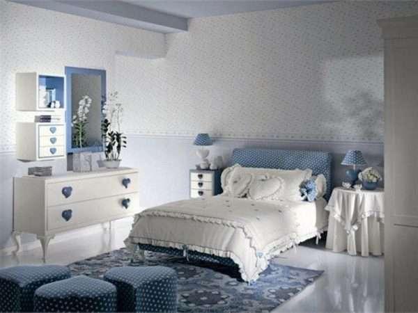 Спальня для девочки подроска в стиле модерн