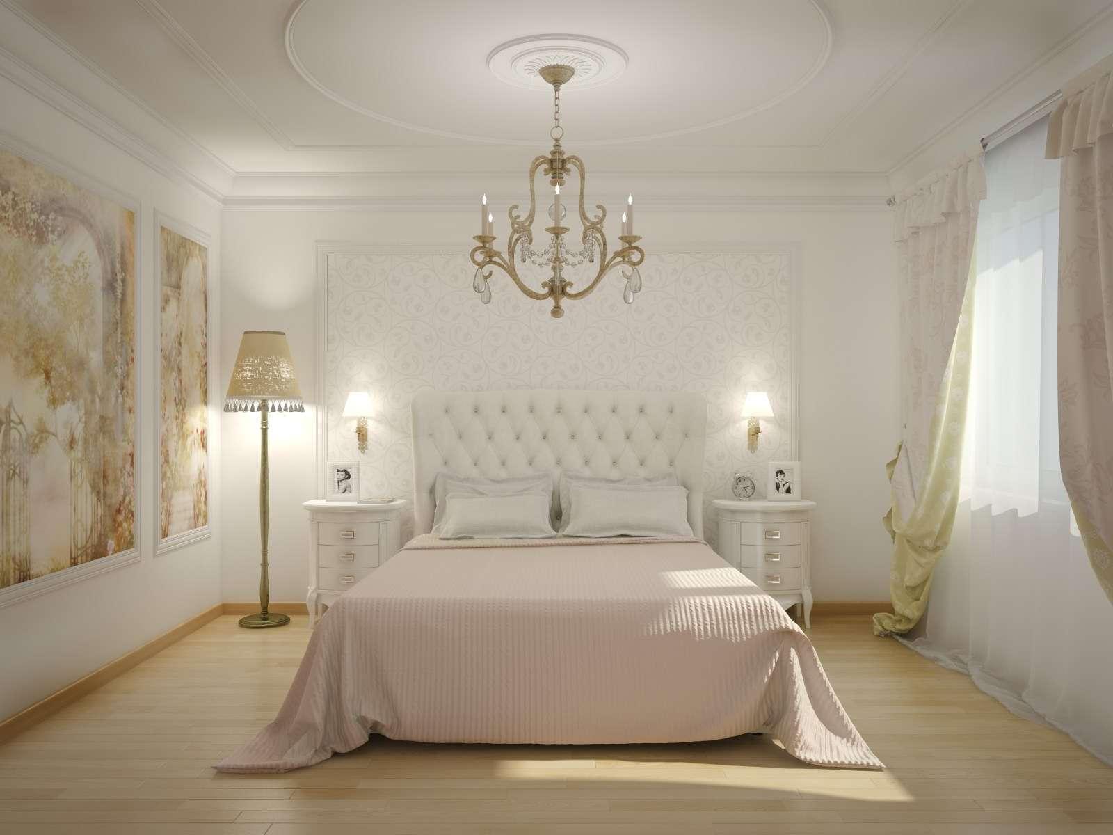 дизайн спальни с белой мебелью фото интерьеров и стили оформления
