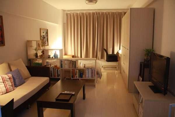 Идеи спальни-гостиной 14 кв м.
