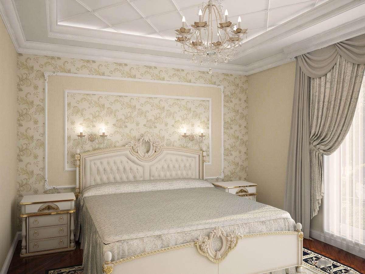 Спальня в классическом стиле новые фото