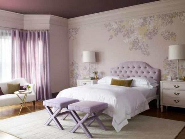 Кожаная обивка мебели для спальни