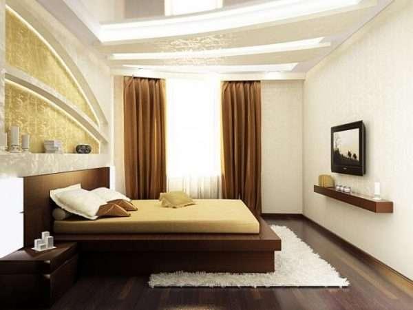 Фото лучших дизайнов для спальни 15 кв. м. в современном стиле