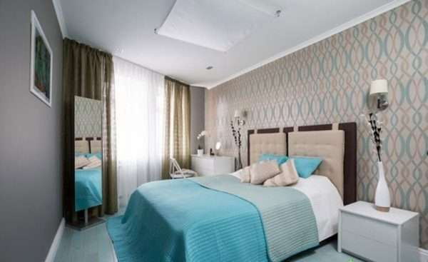 Дизайн спальни 14 м