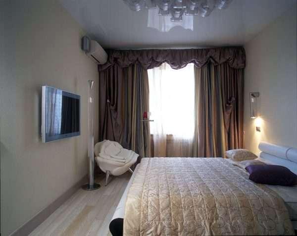 Дизайн спальни в зрущевке