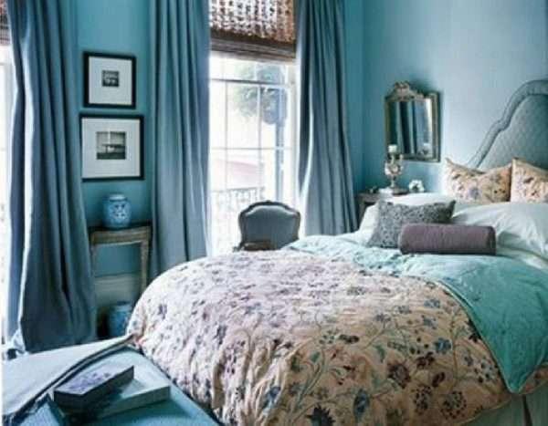 Дополнительные аксессуары в интерьере спальни в стиле прованс