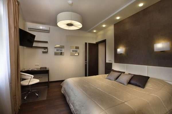 Дополнительное освещение в спальне