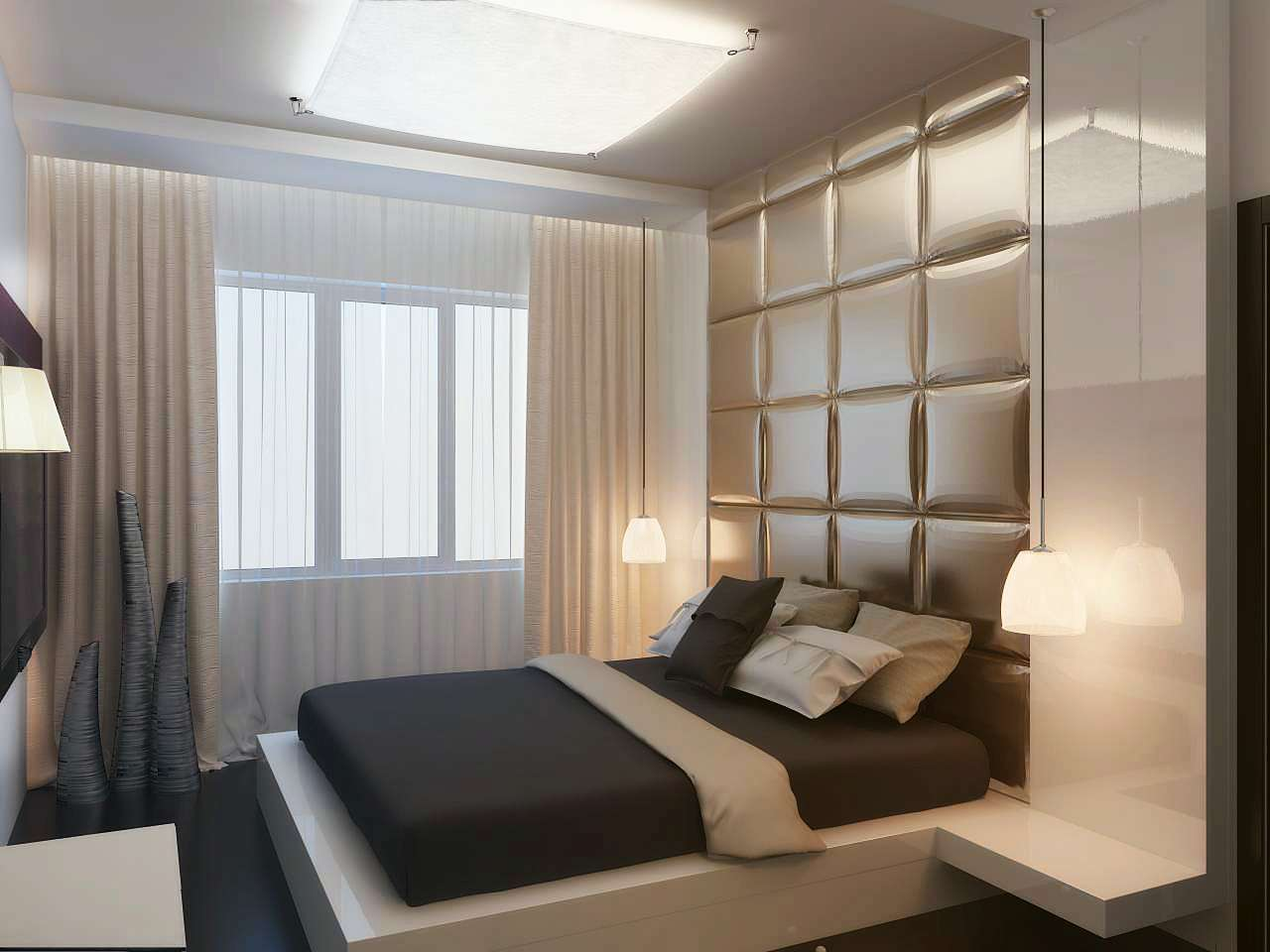 дизайн спальни 16 кв м в современном стиле фото интерьеров