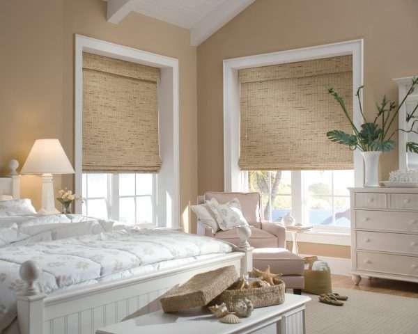 Римские шторы одним полотном