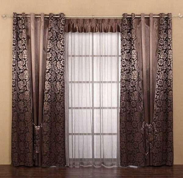 Люверсы для разного типа ткани для штор в спальню