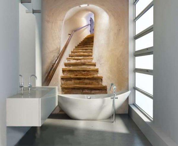 3d фотообои в ванной