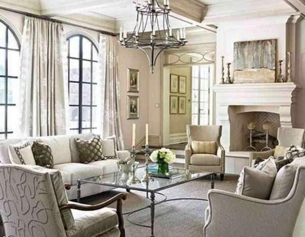 классический стиль в гостиной 16 кв. метров