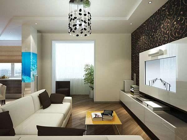 аквариум в гостиной 16 кв. метров