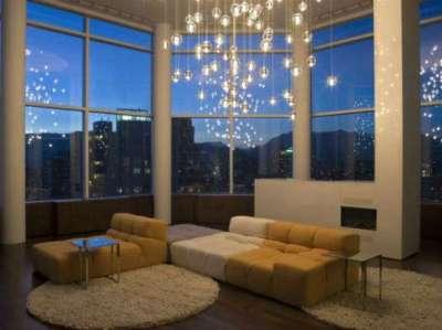 освещение в гостиной 20 квадратных метров