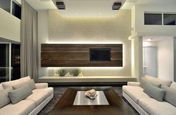 белые диваны в интерьере гостиной