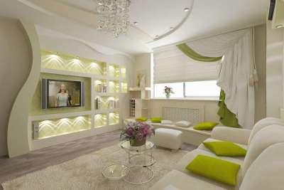 оливково-зеленый фото дома со стенами из гипсокартона ней прибегают