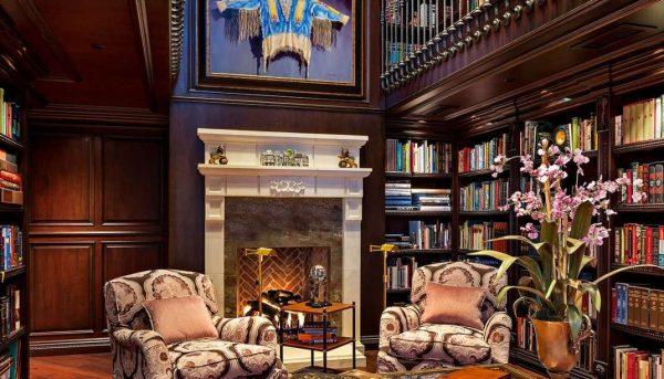 декор в гостиной в английском стиле