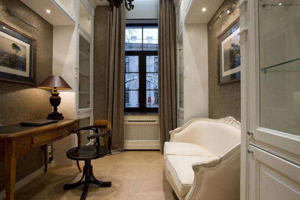 мебель в интерьере гостиной в стиле модерн