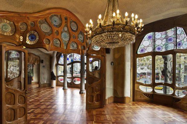 Дом Бальо Антонио Гауди в Барселоне