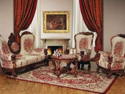 ренессанс в интерьере гостиной в классическом стиле