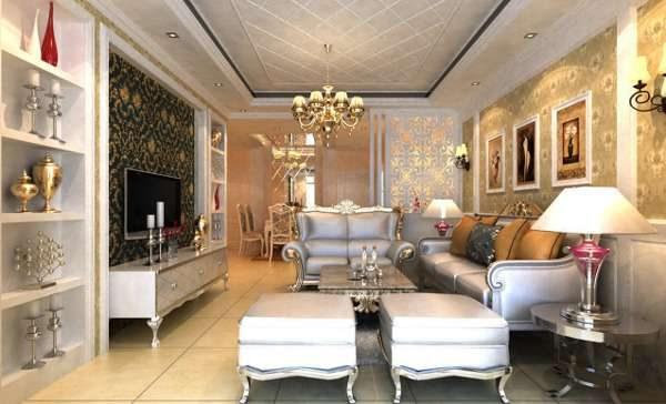 мебель в стиле фьюжн в гостиной