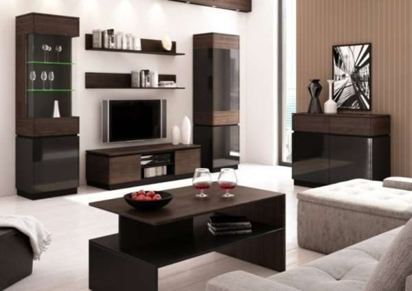 Комплект мебели для гостиной в стиле модерн