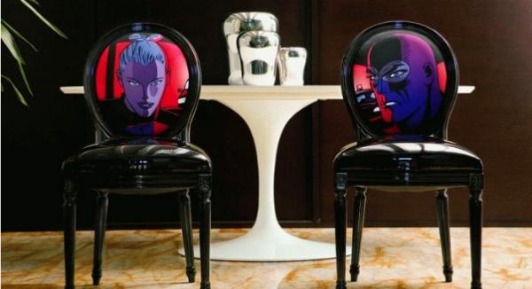 мебель для гостиной в стиле поп арт