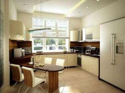 функциональное размещение кухни гостиной