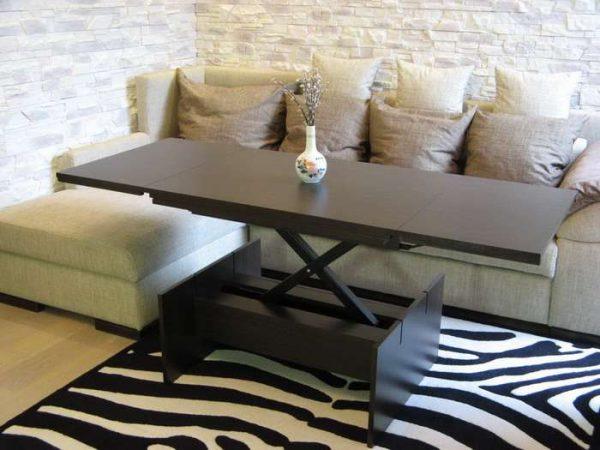 стол-трансформер для кухни гостиной