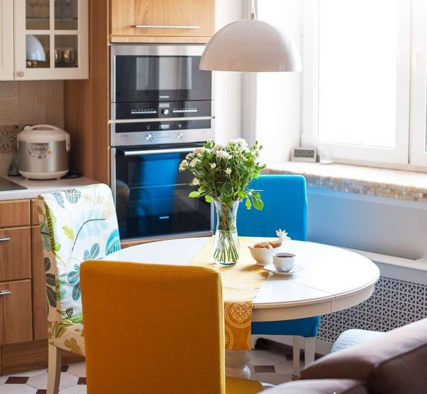 роскошная кухня гостиная