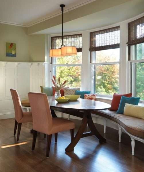 освещение в интерьере небольшой кухни гостиной