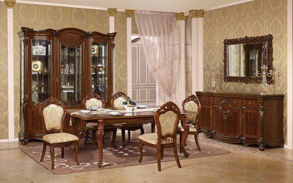 мебель из дерева в стиле классика
