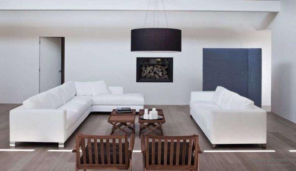 белые диваны для гостиной