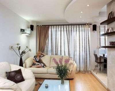 мягкая мебель в гостиной с ремонтом эконом класса